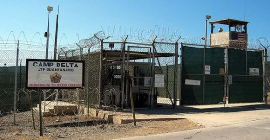 Geschlossen: Camp Delta in Guantanamo Bay