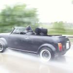 Regenfest: Das neue Mini Cabrio mit Ablaufstöpsel