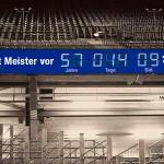 So könnte die Stadionuhr auf Schalke aussehen.